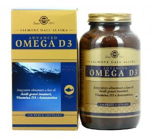 ADVANCED OMEGA D3 120PRL
