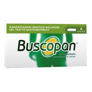BUSCOPAN*6SUPP 10MG