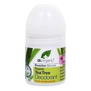 DR ORGANIC TEA TREE DEODORANTE