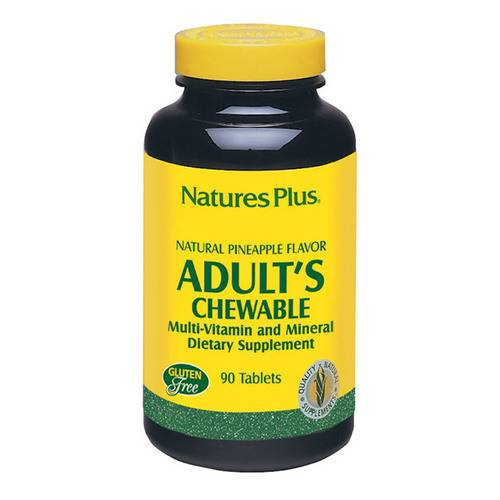 Adult's chewable multivitamine 90 tavolette