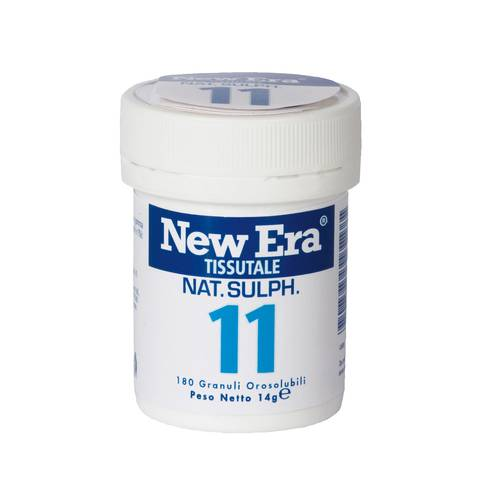 NEW ERA 11 Solubile 180 compresse 14 g