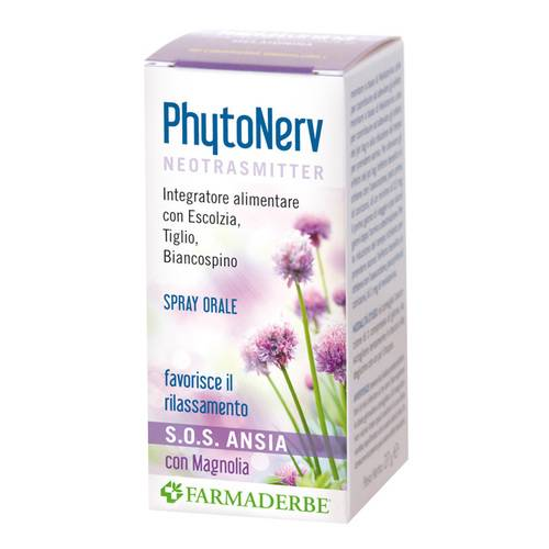 PHYTONERV SOS SPRAY ORALE 30ML